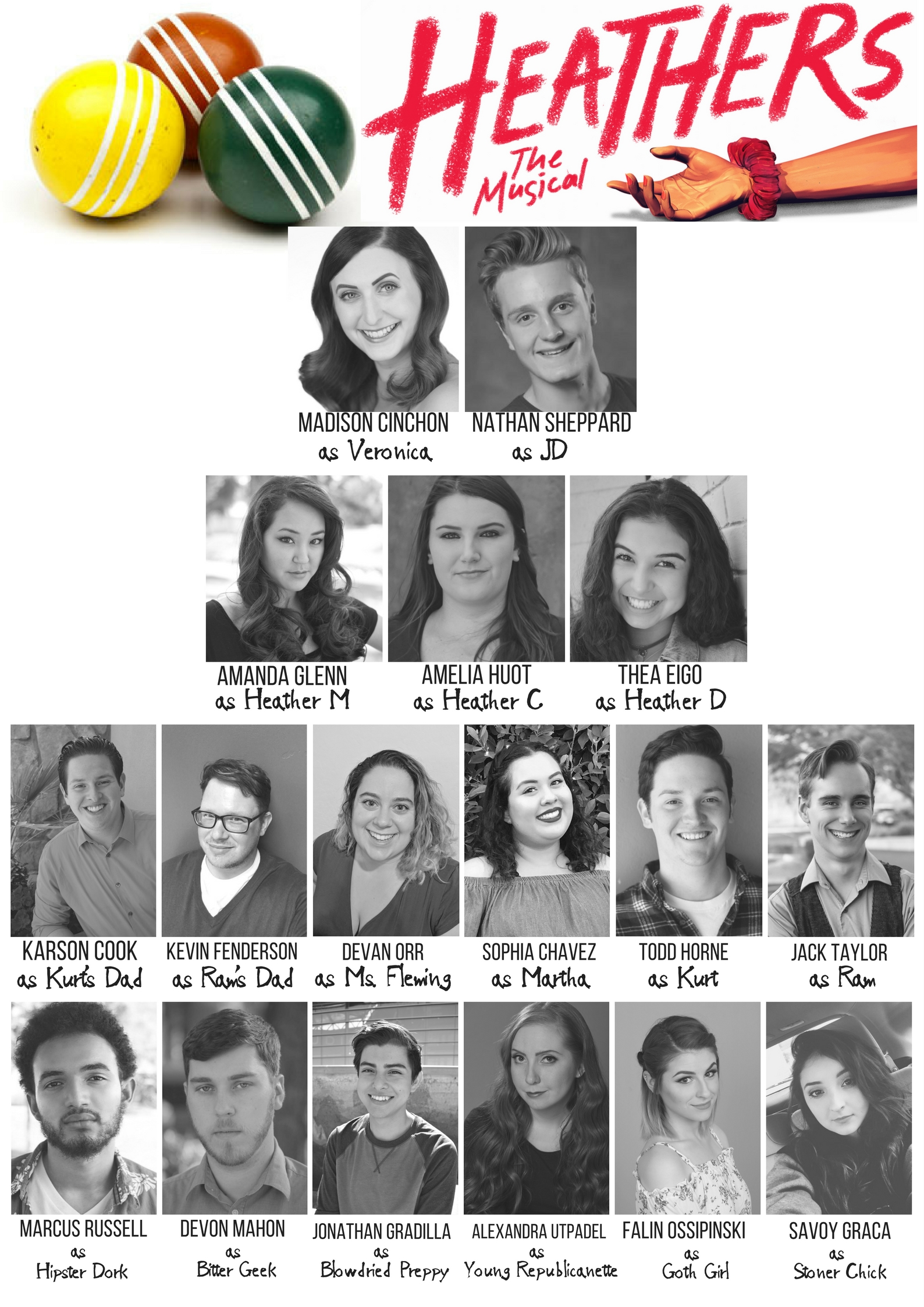d9164440d7719f Congratulations to the cast of Heathers the Musical